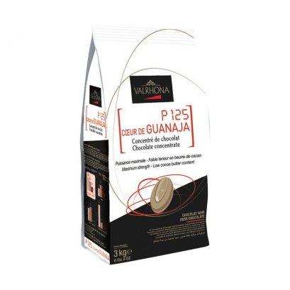 VALRHONA P125 COEUR DE GUANAJA 80% - Dark Chocolate