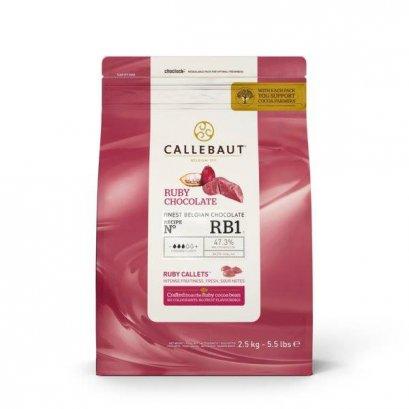 CALLEBAUT RUBY CHOCOLATE 33% :  ช็อคโกแลตสีชมพู