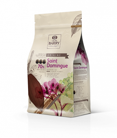 CACAO BARRY SAINT-DOMINGUE 70% - Dark Chocolate