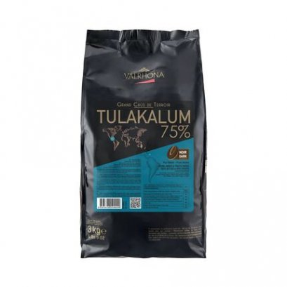 VALRHONA TULAKALUM 75% -Dark Chocolate