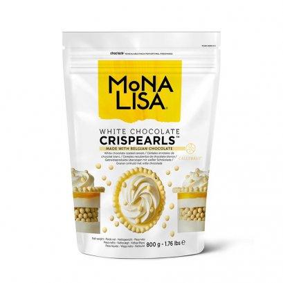 Mona Lisa White Chocolate Crispearls