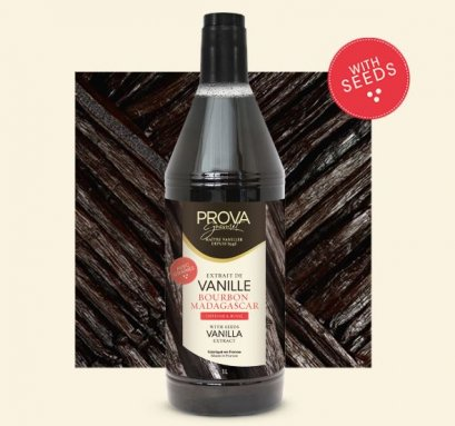 Prova Madagascar Bourbon Pure Vanilla Extract with seeds (FRANCE)