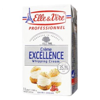 Elle&Vire Excellence Whipping Cream 1 Liter - วิปปิ้งครีม