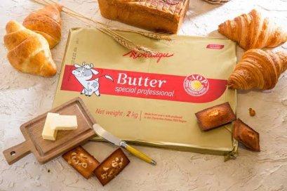 Montaigu AOP Butter 82% Fat :  2kg - เนยจืดทำครัวซองค์