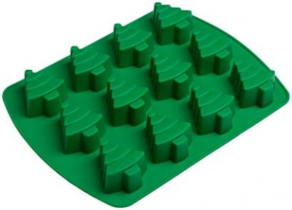 Wilton 12 Cavity Silicone Mini Tree Mold