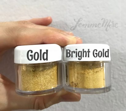 Luster Dust : BRIGHT GOLD 4g