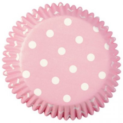 Wilton  Dots Standard Baking Cups ,75 counts