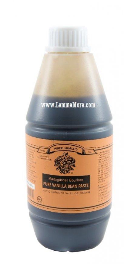 Nielsen-Massey Madagascar Bourbon Pure Vanilla Bean Paste 1 Litre : 1000ml (34oz)