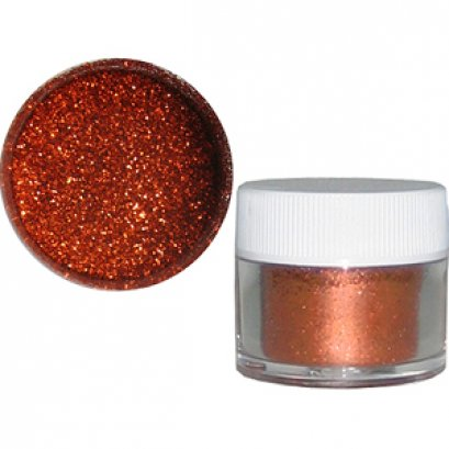 Disco Glitter : BRUNT ORANGE 5g