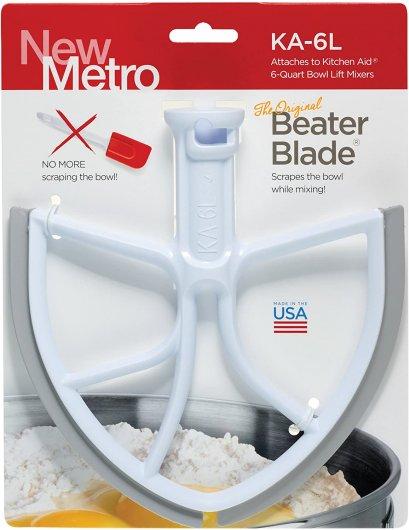 หัวตีขอบยางสำหรับรุ่น 5-6-7 ควอทซ์ - Original BeaterBlade for KitchenAid ฺBowl-Lift 5-6-7 Quart
