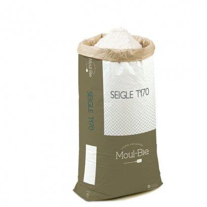 แป้งไรย์ฝรั่งเศส French Rye Flour - Moul-Bie Seigle T170