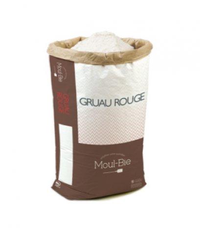 T45 French Wheat Flour - Moul-Bie Gruau Rouge Flour - แป้ง T45