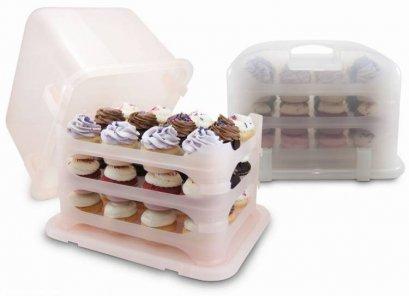 กล่องใส่คัพเค้ก - Cupcake Courier - Cupcake Container
