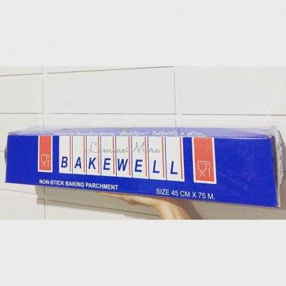 กระดาษไขเคลือบพิเศษ BAKEWELL (45cm*75m)
