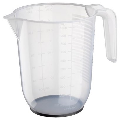ถ้วยตวงของเหลวขนาด 1ลิตร - พลาสติก