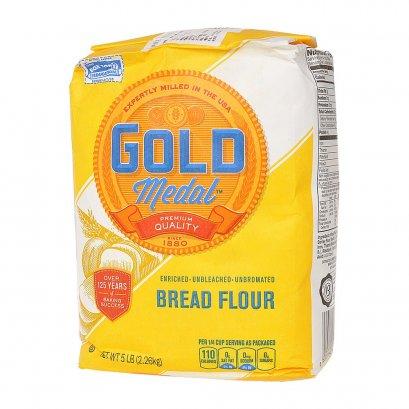 แป้งขนมปัง - Gold Medal™ BREAD FLOUR (USA) 5 LB (2.26kg)