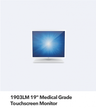 19 Medical Grade Touch Screen Monitor