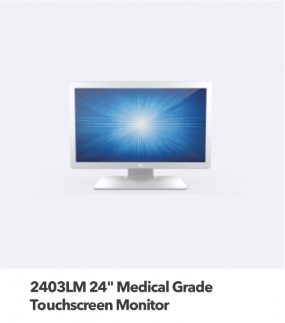24 Medical Grade Touch Screen Monitor