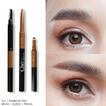 Cho 3in1 Eyebrow Pro #01 LATTE