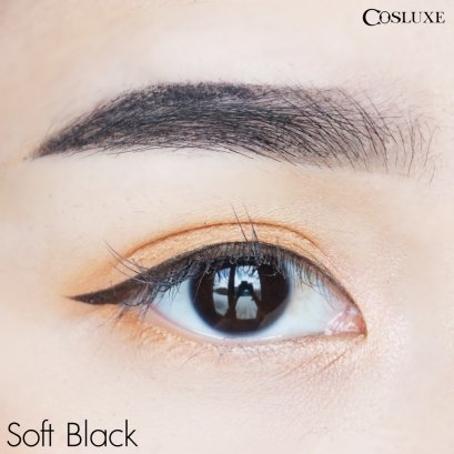 COSLUXE Slimbrow pencil #Soft Black