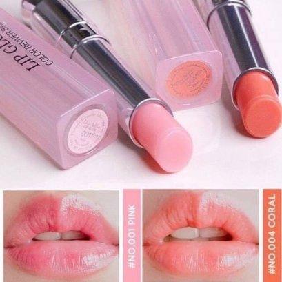 Dior Addict Lip Glow Duo Set #001 pink / #004 coral