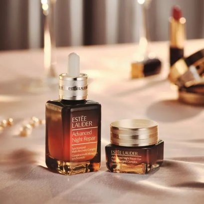 Estee Lauder Travel Exclusive Maximize Your Beauty Sleep (ANR Multi สูตรใหม่ 50ml + Eye Supercharged Complex 15ml)
