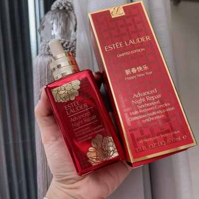 Estee Lauder ADVANCED NIGHT REPAIR LIMITED EDITION SYNCHRONIZED MULTI-RECOVERY COMPLEX 100ml (ขวดแดง)