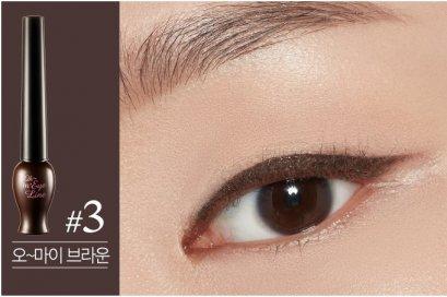 Etude Oh M'Eye Line 5ml #3 Brown (แบบจุ่ม)