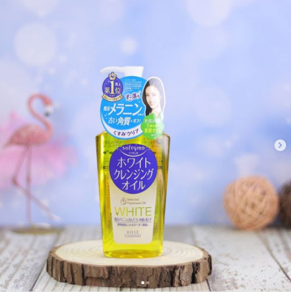 Kose Softymo White Cleansing Oil 230ml.
