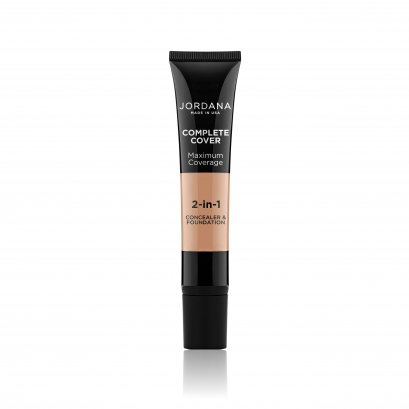 Jordana Complete Cover 2-In-1 Concealer & Foundation #07 NEUTRAL OLIVE