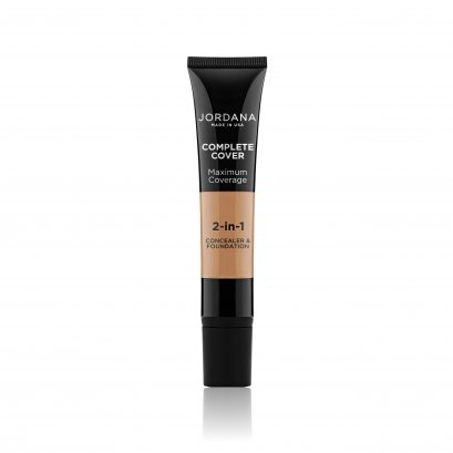 Jordana Complete Cover 2-In-1 Concealer & Foundation #08 GOLDEN OLIVE
