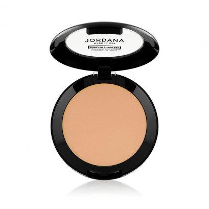 Jordana Forever Flawless Pressed Powder (ตลับดำ) #110 CLASSIC BEIGE