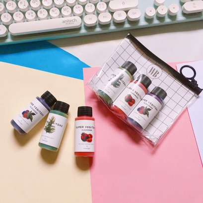 Wonder Bath Super Vegitoks Cleanser Miniature Kit