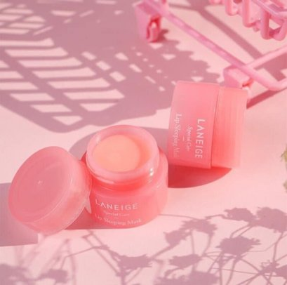 LANEIGE Special Care Lip Sleeping Mask (Berry) สีชมพู 3g.