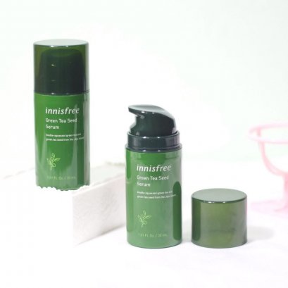 Innisfree Green Tea Seed Serum New Package 2019 30ml (No Box)