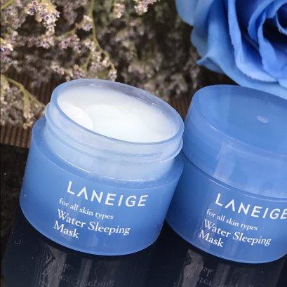 LANEIGE Water Sleeping Mask 15ml สีฟ้า
