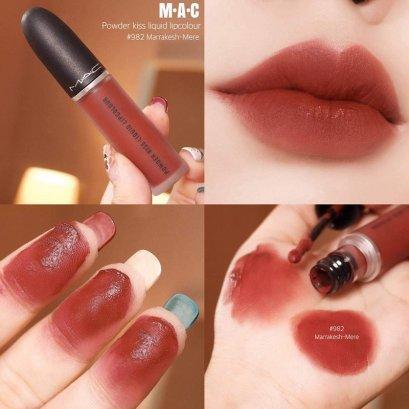 Mac Powder Kiss Liquid Lipcolour #982 Marrakesh-mere