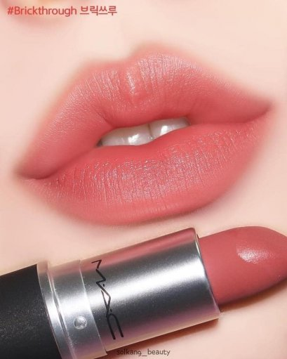 MAC POWDER KISS LIPSTICK #930 Brickthrough