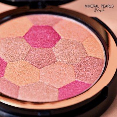 Merrez'Ca Mineral Pearls Blush 18g. #302 Double Orange