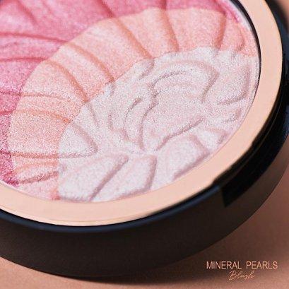 Merrez'Ca Mineral Pearls Blush 18g. #PK102 Lovely Cheek