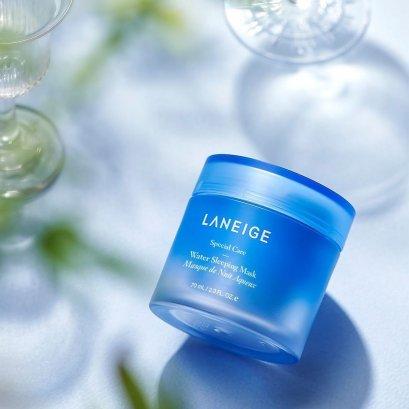 LANEIGE Water Sleeping Mask 70ml สีฟ้า
