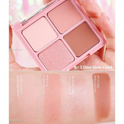 PERIPERA Pocket Shadow Palette #2 Once Upon a Time