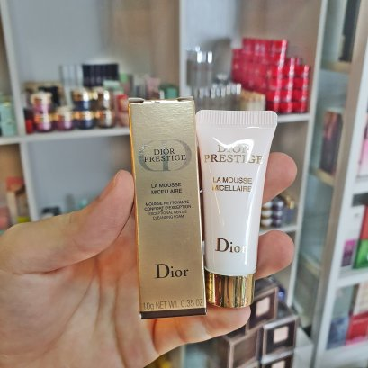 Dior Prestige La Mousse Micellaire Exceptional Gentle Cleansing Foam 10ml