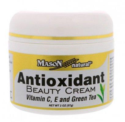 Mason Natural ANTIOXIDANT BEAUTY CREAM VITAMIN C,E AND GREEN TEA 57g.