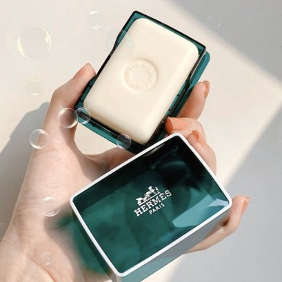 Hermès Eau D'orange Verte Soap 150g สบู่น้ำหอม