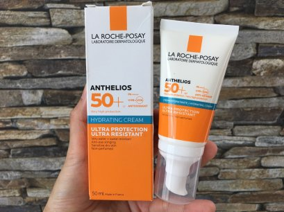 La Roche-Posay Anthelios SPF 50+ PA++++ Creme Hydratante 50 ml. (สำหรับ ผิวแห้ง)
