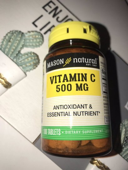 Mason Natural Vitamin C 500 mg 100 Tablets