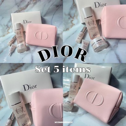 Dior Capture Totale CELL Energy Discovery Kit 5 items (กระเป๋าชมพู)