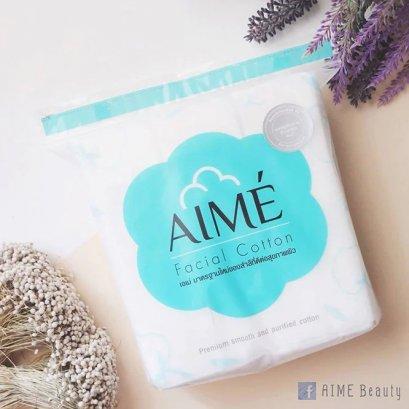 Aime Facial Cotton 80 กรัม (150 แผ่น)