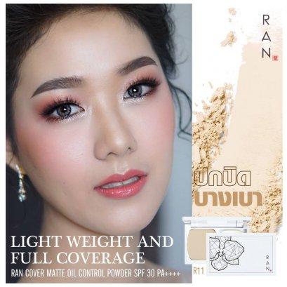 RAN Cover Matte Oil Control Powder SPF20/PA++ #R11